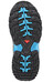 Salomon XA Pro 3D Winter TS CS WP Shoes Junior grey denim/black/methyl blue